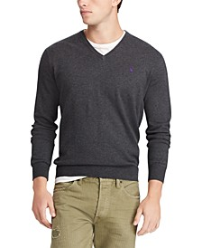 Men's Big & Tall Long Sleeve Cotton Sweater