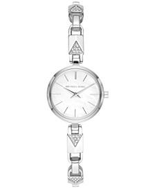 Women's Petite Jaryn Stainless Steel Mercer Lock Bracelet Watch 24mm