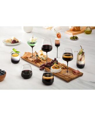 Black Swan Martini Glasses Set of 2