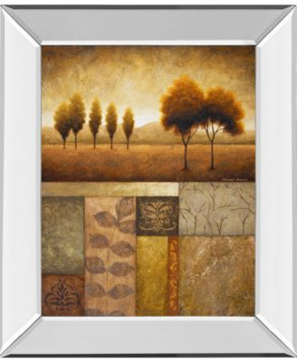 """Plainview I by Michael Marcon Mirror Framed Print Wall Art, 22"""" x 26"""""""