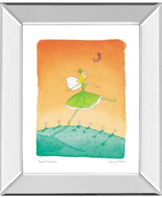 "Felicity Wishes IV by Emma Thomson Mirror Framed Print Wall Art, 22"" x 26"""