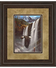 "Eagle Portrait I by Leo Stans Framed Print Wall Art, 34"" x 40"""