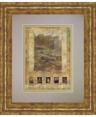 "Botany Journal I by Kemp Framed Print Wall Art, 34"" x 40"""