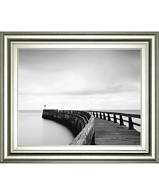 "Into The Mist by Papiorek Framed Print Wall Art, 22"" x 26"""