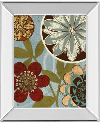 "Persian Garden I by Katrina Craven Mirror Framed Print Wall Art, 22"" x 26"""