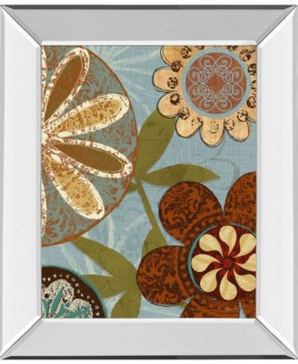"Persian Garden II by Katrina Craven Mirror Framed Print Wall Art, 22"" x 26"""