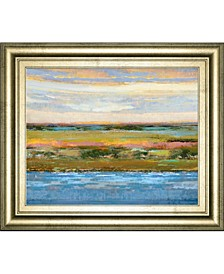"Flatland Contemplation by Mark Chandon Framed Print Wall Art, 22"" x 26"""