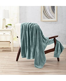 Home Fashions Designs Oversize Ultra Plush Solid Throw Blanket