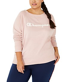 Plus Size Logo Graphic Sweatshirt