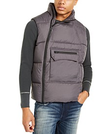 Men's Side Zip Puffer Vest