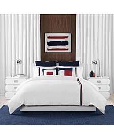Signature Stripe King Comforter Set