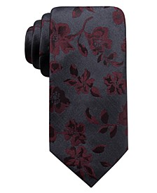 Men's Jackson Slim Floral Tie, Created For Macy's