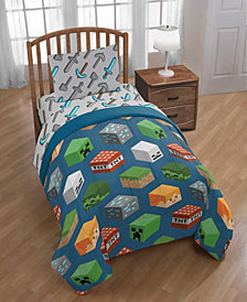 Minecraft 4-Piece Twin Comforter Set