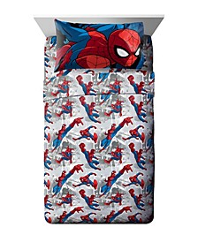 Spiderman 3-Piece Twin Sheet Set
