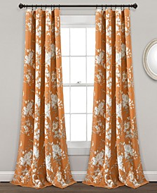 Botanical Garden Floral Curtain Sets