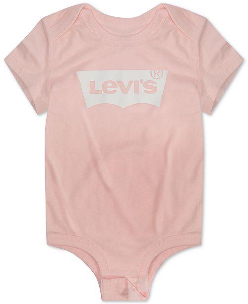 Levi's Baby Boys and Girls Logo-Print Cotton Bodysuit