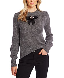 Bow-Detail Sweater