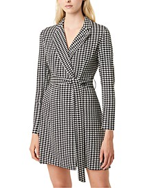 Sadira Houndstooth Dress