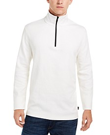 Men's Logo Quarter-Zip Sweater