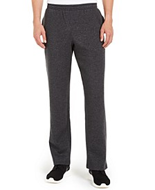 Men's Open-Hem Fleece Sweatpants, Created for Macy's