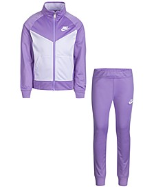 Toddler Girls 2-Pc. Colorblocked Track Jacket & Pants Set