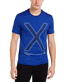 Men's X Tech Logo Graphic Performance T-Shirt