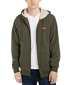 Men's Fleece-Lined Zip-Front Hoodie