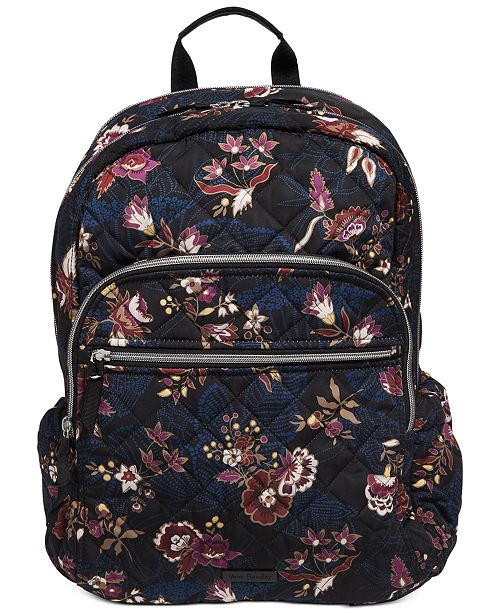 Vera Bradley Performance Twill Iconic Campus Backpack