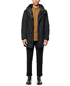 Men's Linstead Car Coat with Sherpa Liner