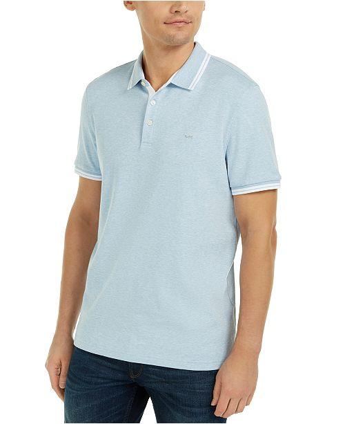 Michael Kors Men's Liquid Cotton Greenwich Polo Shirt