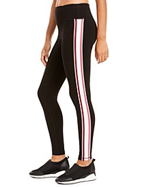Varsity-Stripe Leggings, Created for Macy's