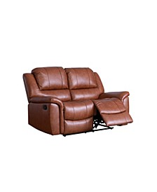 Stella Leather Recliner Loveseat
