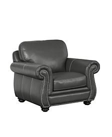 Hazel Leather Arm Chair