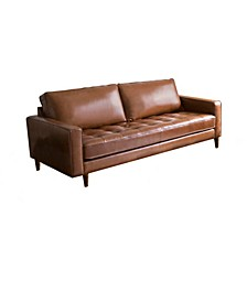 "Shiloh 80"" Leather Sofa"