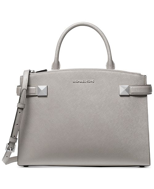 Michael Kors Karla Leather Medium East West Satchel