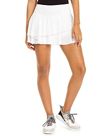 Pleated Ruffled Skort, Created for Macy's