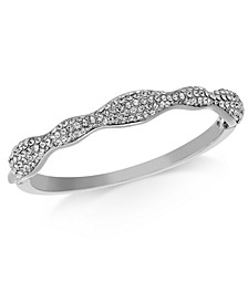 Pavé Wavy Bangle Bracelet, Created for Macy's