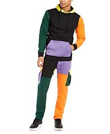 Men's Colorblocked Track Suit