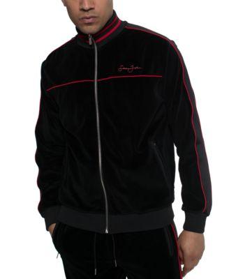 Men's Velour Track Jacket