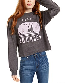 Disney Juniors' Frozen Journey Long-Sleeved Graphic T-Shirt by Mad Engine