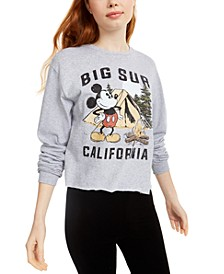 Disney Juniors' Mickey Mouse Big Sur Long-Sleeved Graphic T-Shirt by Mad Engine