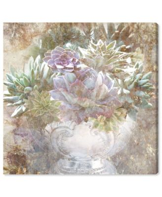 Serving Succulents Canvas Art, 36
