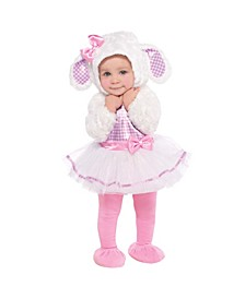 Infant Girls Little Lamb Costume