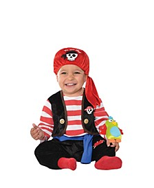 Baby Boys and Girls Buccaneer Pirate Costume