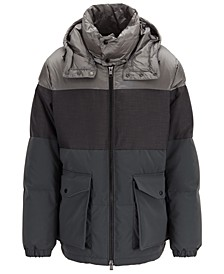 BOSS Men's Delowa Water-Repellent Down Jacket