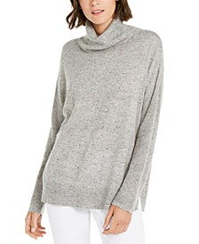 INC Melange Cowlneck Sweater, Created for Macy's