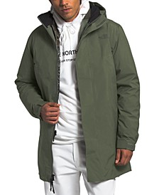 Men's Transverse Triclimate Water-Repellent Hooded Jacket with Removable Bib