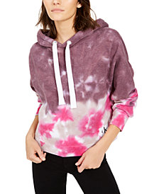 Calvin Klein Jeans High Tide Tie-Dyed Cropped Hoodie