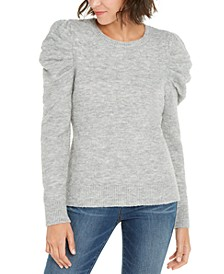 INC Puff-Sleeve Sweater, Created For Macy's