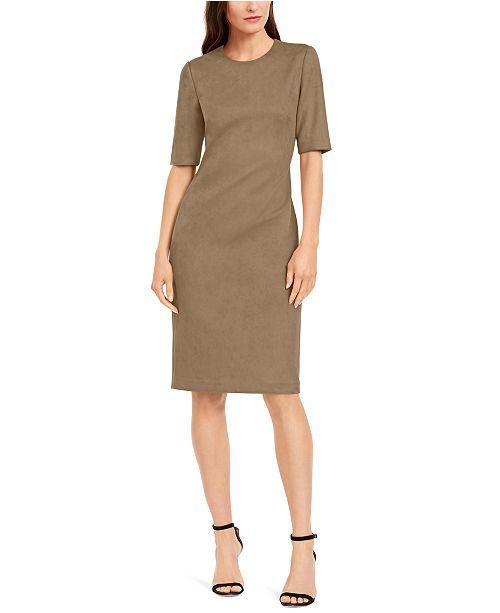 Anne Klein Crewneck Sheath Dress
